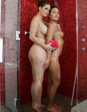 Wife in Shower Pics