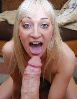 Rachel Luv swallows